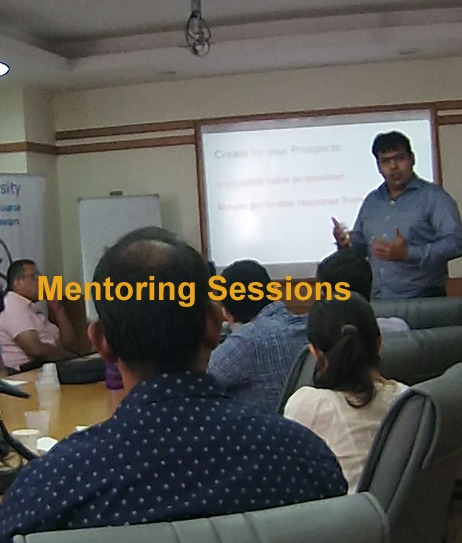 Mentoring and training Sessions