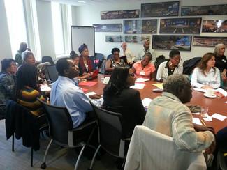 Reunión en la sede del Banco Mundial