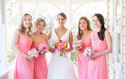 coral wedding