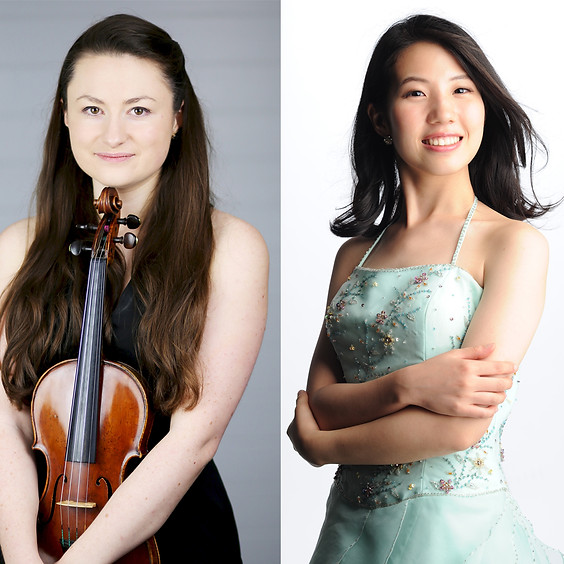 Laura Rickard, violin & Kanako Mizuno, piano
