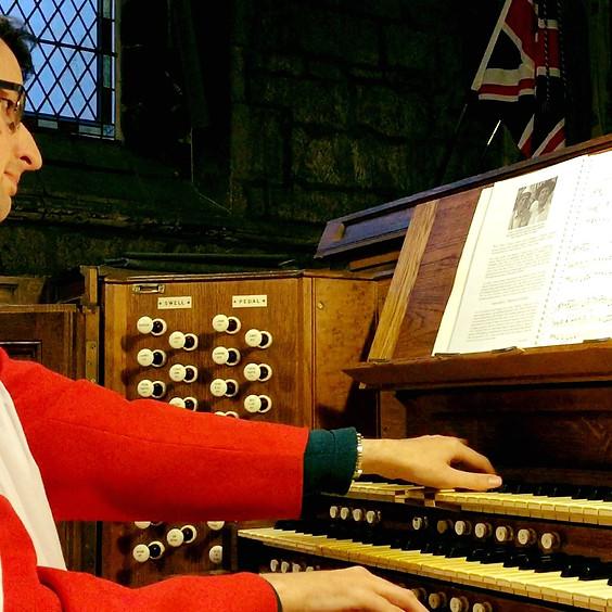 Online Concert: Matthew Collins, organ