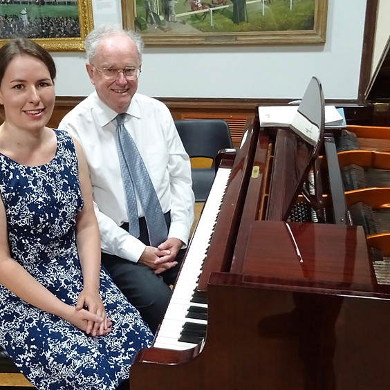 Four Hands, One Grand Piano: Amy Butler & Peter Sproston