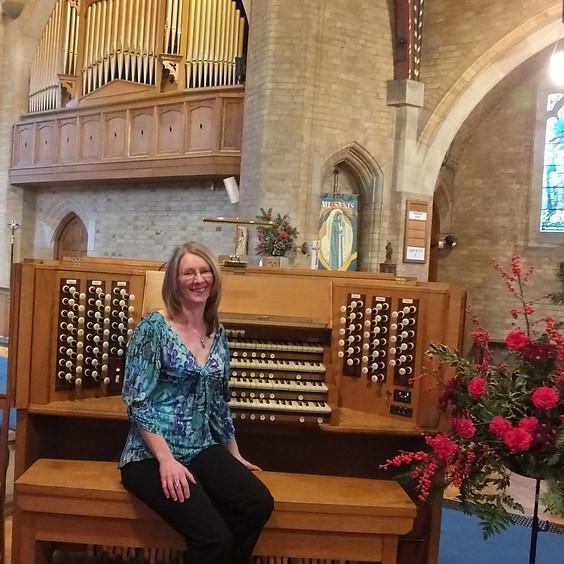 Angela Sones, organ