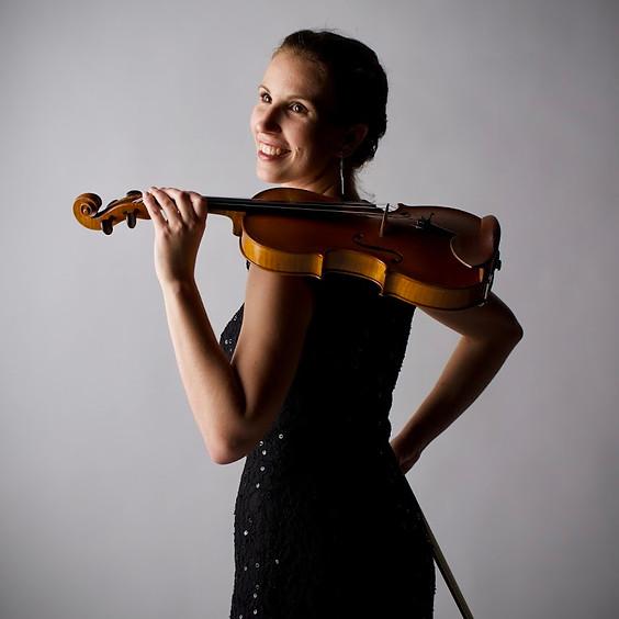 Boglarka Gyorgy, violin & Amy Butler, piano