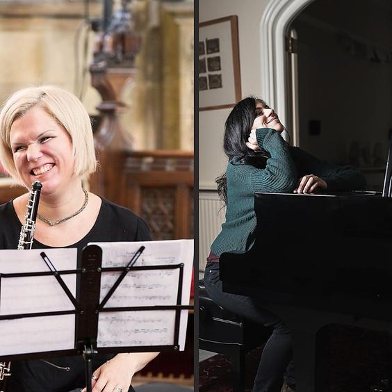 Hana Drábková, oboe & Graziana Presicce, piano