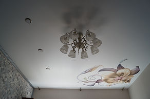 Фотопечать на натяжнойм потолке