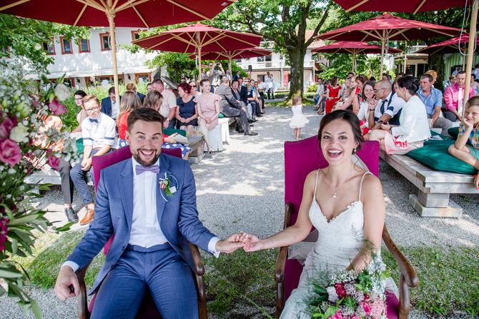 Hochzeitsfotograf am wunderschönen Chiemsee