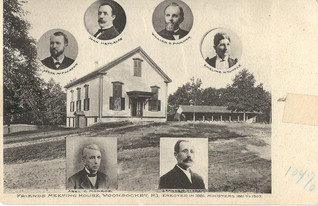 Friends Meeting House Ministers 1881 - 1907