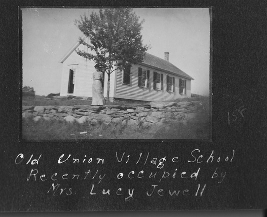 P0013 Union Village School and Lucy Jewell- V Hutton Album - BW.jpg