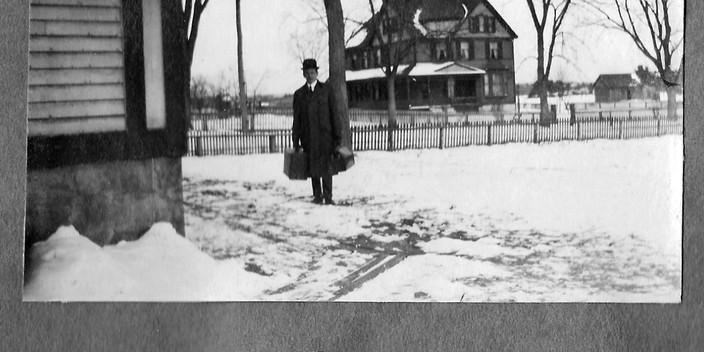 Rev Albert Darnell's son