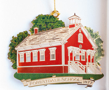 Christmas Ornament - Forestdale School