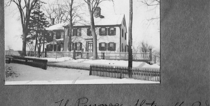 Parsonage - Slatersville Congregational Church