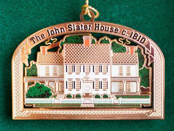 Christmas Ornament - John Slater House