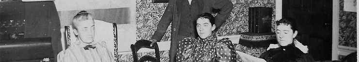 Sarah and Henry Wardle with Bessie and Hattie