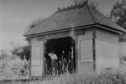 Union Village railroad station