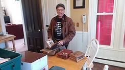 20191219 John Staples text book donation