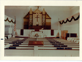 Slatersville Congregational Church Christmas 1966
