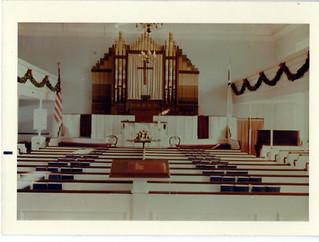 Slatersville Congregational Church Christmas 1966