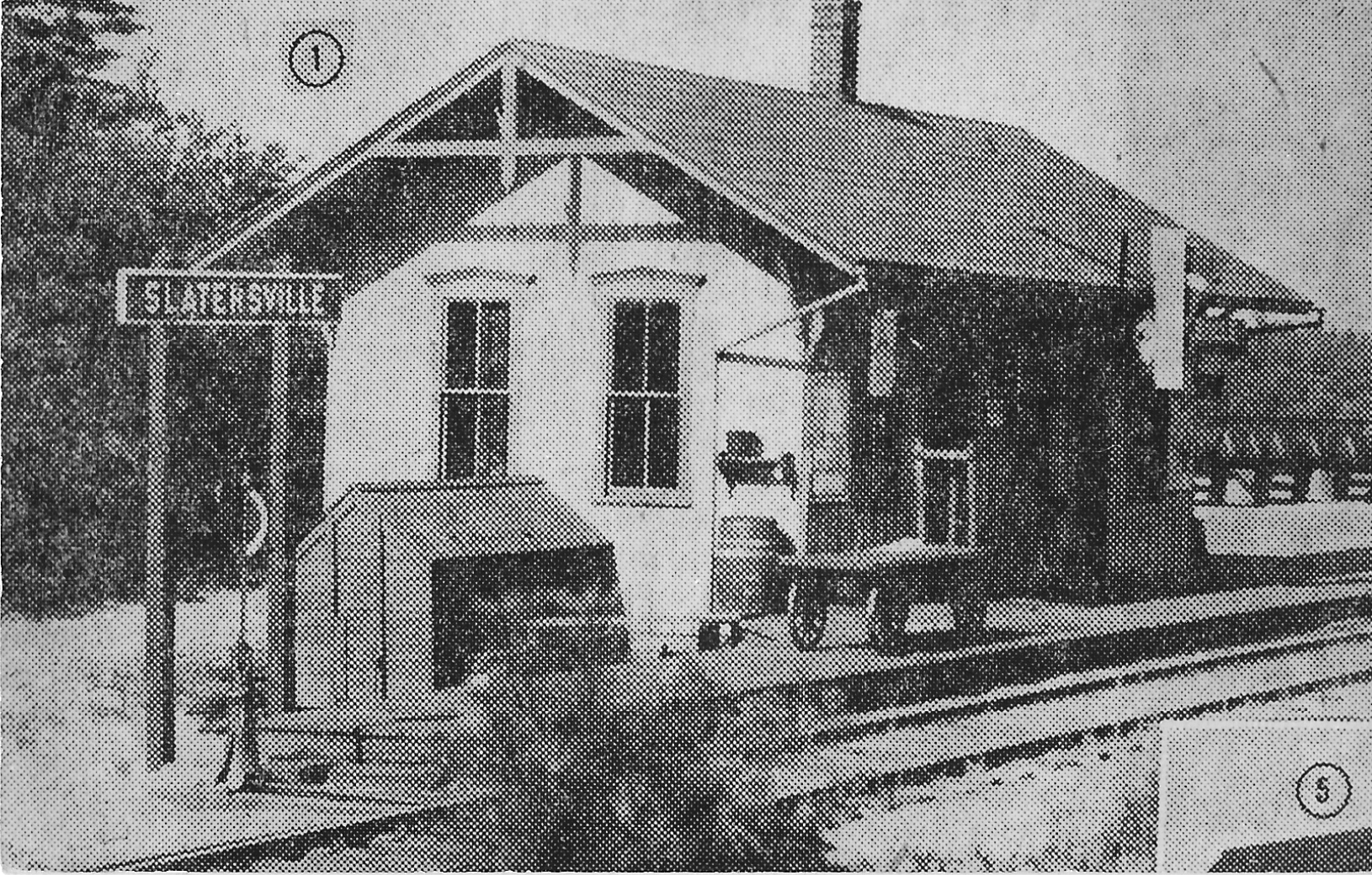 Slattersville railroad station