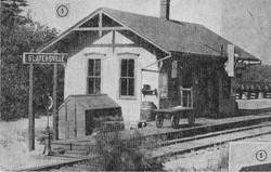 Slattersville railroad station