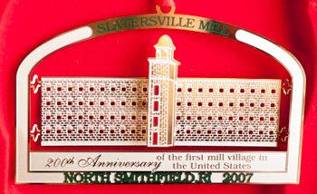 Christmas Ornament - Slatersville Mill