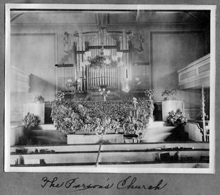 Slatersville Congregational Church interior