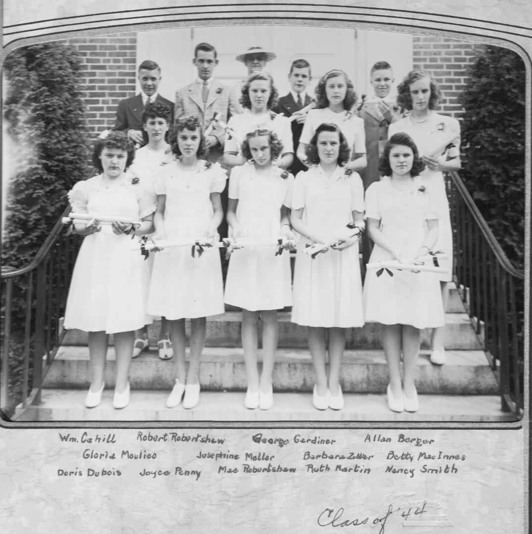 Kendall Dean Graduation Class - 1944