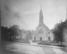 Copy of a photo of St John's Church