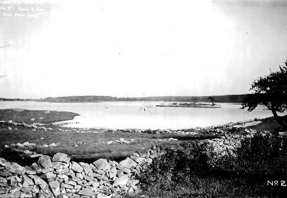 Facing east from Obed Paine Farm- BW photo.jpg