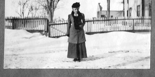 Rev Albert Darnell's wife  Image P0222