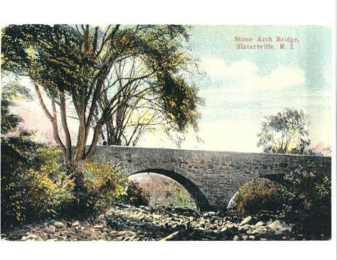 Stone Arch Bridge - Slatersville