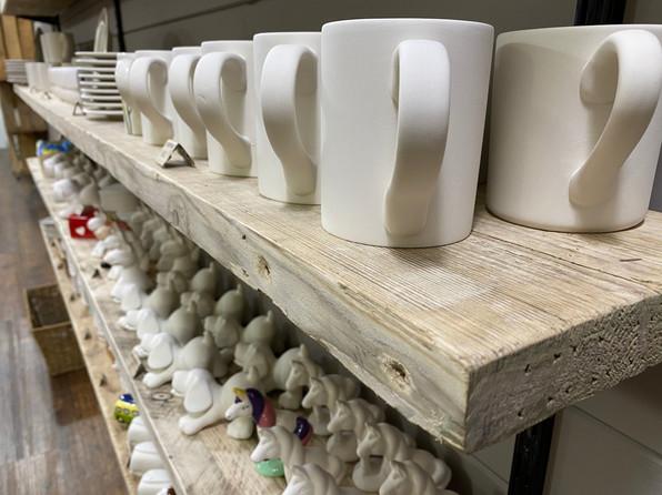 Huge choice of ceramic pieces