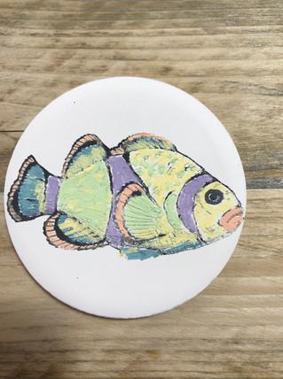 Ceramic Painting Fish