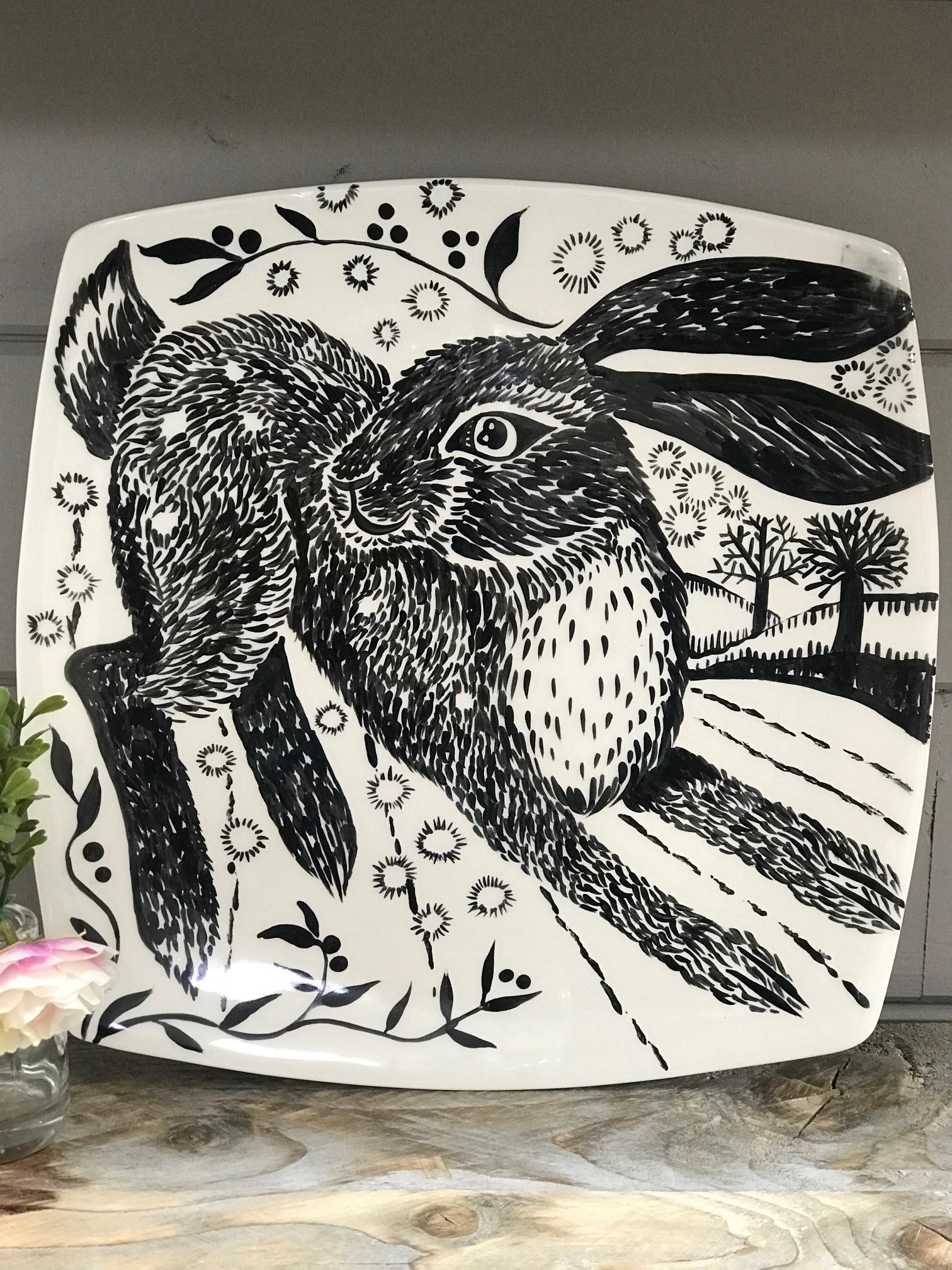 Workshop: a Hare on a Sushi Plate 26/08