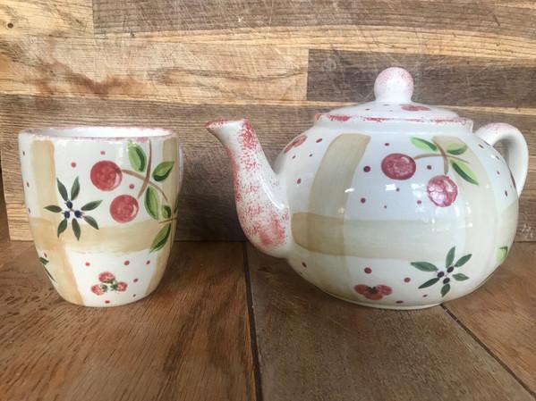 Pot en Ciel Tea Pot and Mug