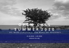 OPEN CALL FOR MUHU  ART RESIDENTS 2020