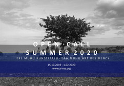 OPEN CALL FOR MUHU  ART RESIDENTS 2020