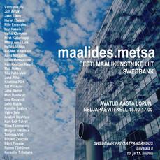 MAALIDES METSA , näituse kataloog