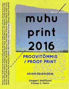 Proof Print / Proovitõmmis
