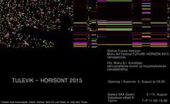 Future-Horizon 2015 - Tallinn exhibition
