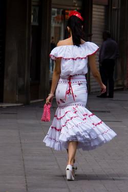 Strolling in Sevilla