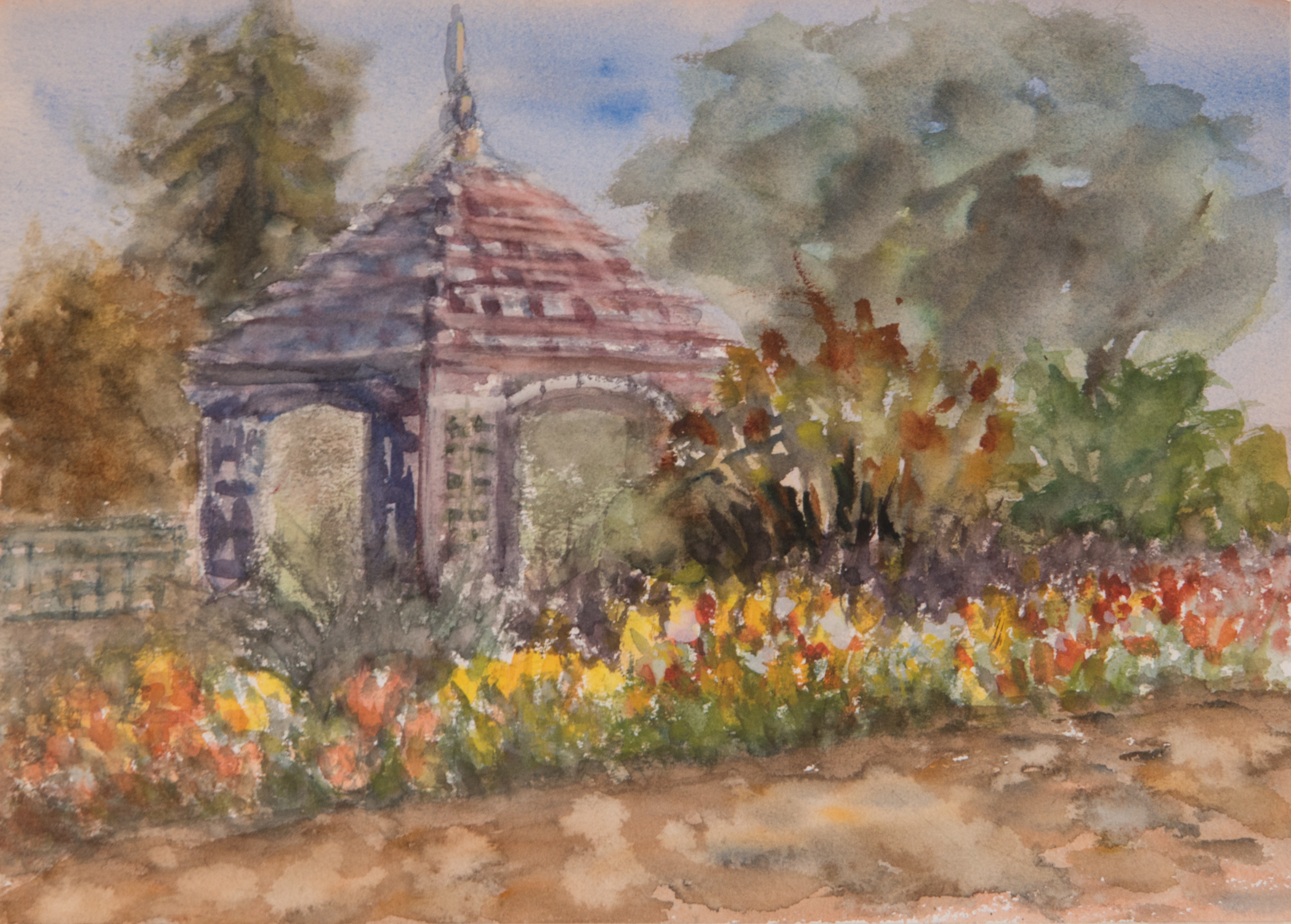 Springtime at Gamble Gardens