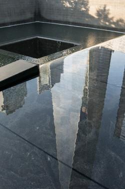 Memorial's Reflecting Pool