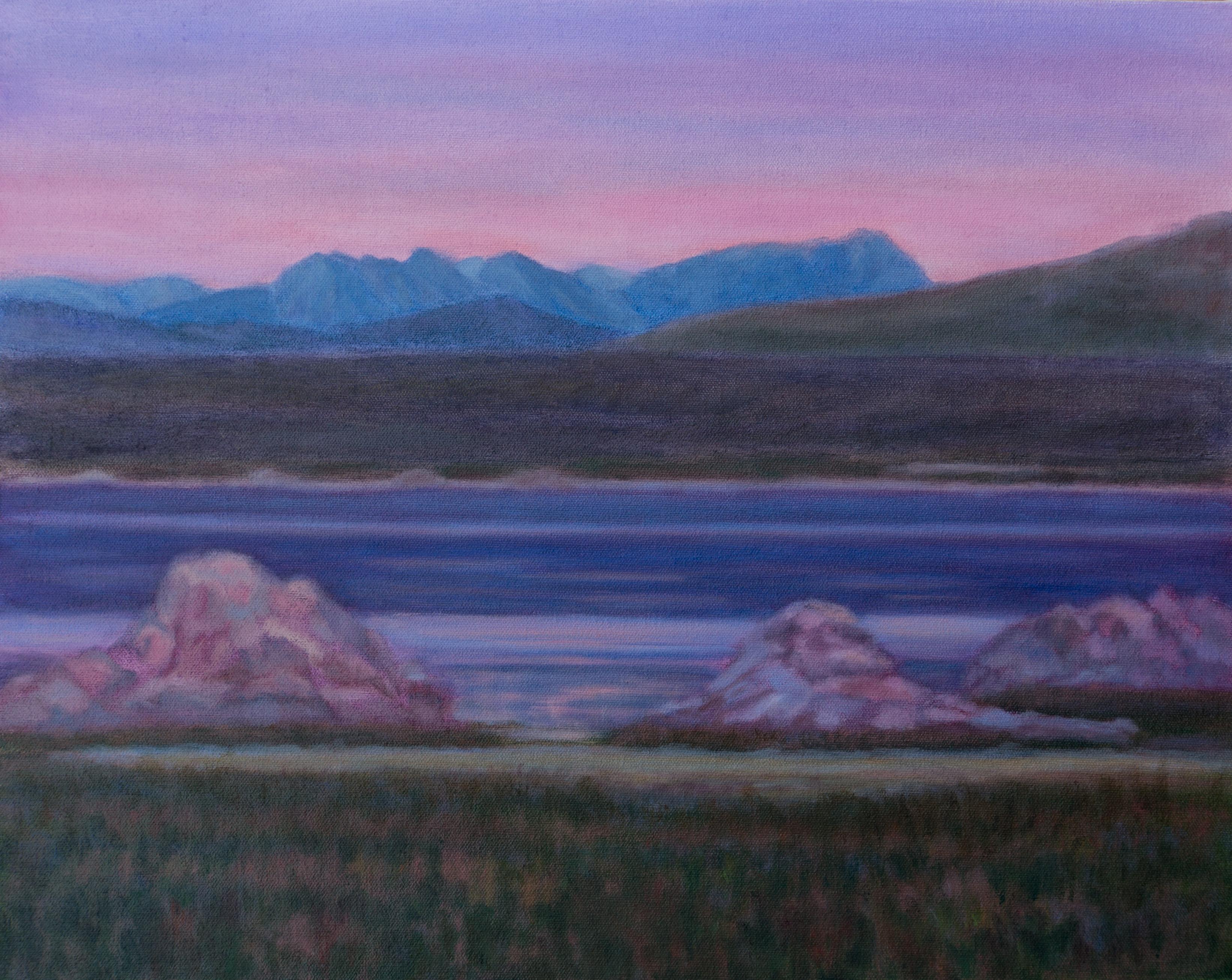 Mono Lake at Dusk