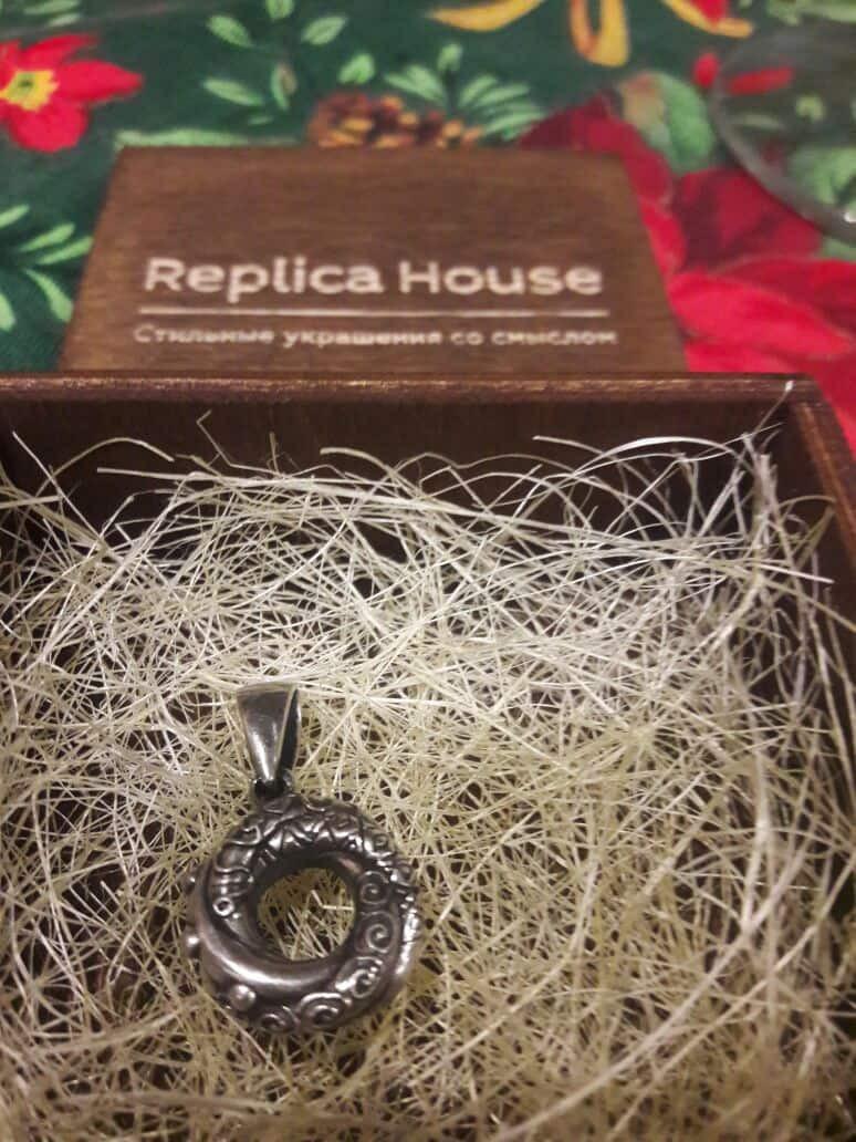 алжирский узел любви в коробочке от Replica House