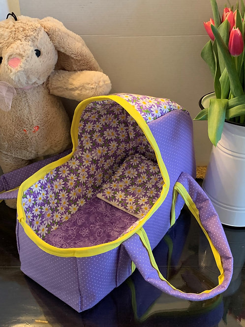 Small Soft Baby Doll Bassinet