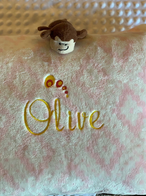 Personalized Puppy Pillow - Waterproof