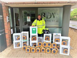 Defibrillators for St John Ambulance