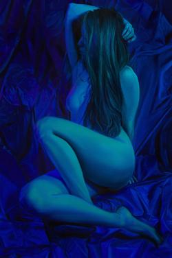 BLUE NUDE - Jen Mann
