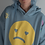 Thumbnail: other sister hoodie - heart eye frown guy graphic